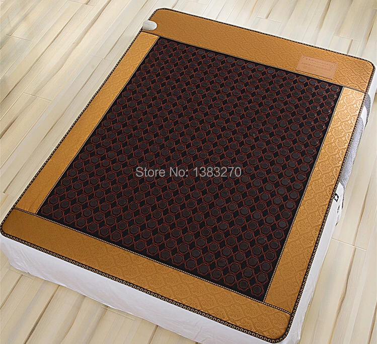 2017 most popular health care item ochre stone electric heated massage mattress cushion bed cover 1.2X1.9M health care supplies low level laser therapy popular japan av mini massager vibrator with vaginal massage popular japan av mini