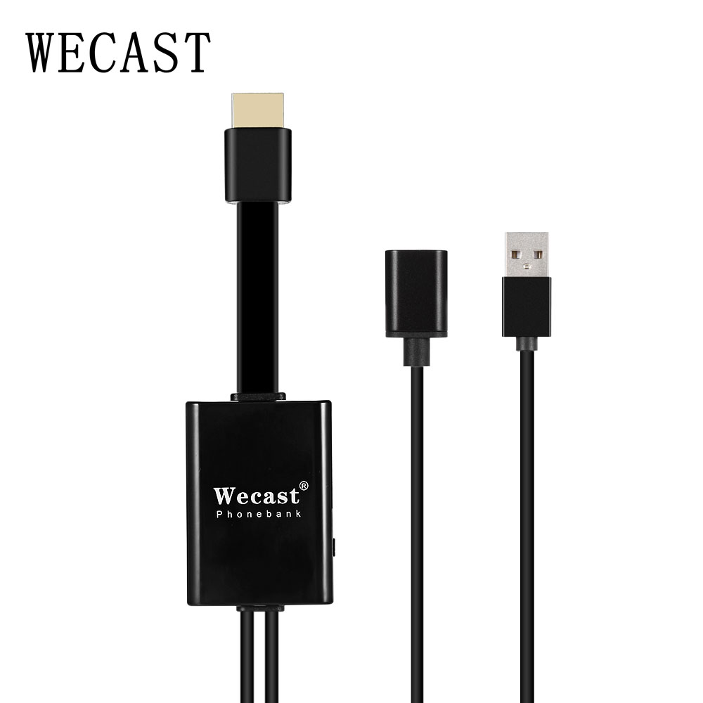 Wecast I8 Minnoring Cable RK3036 Wired TV Stick 1080P HDMI Dongle ...