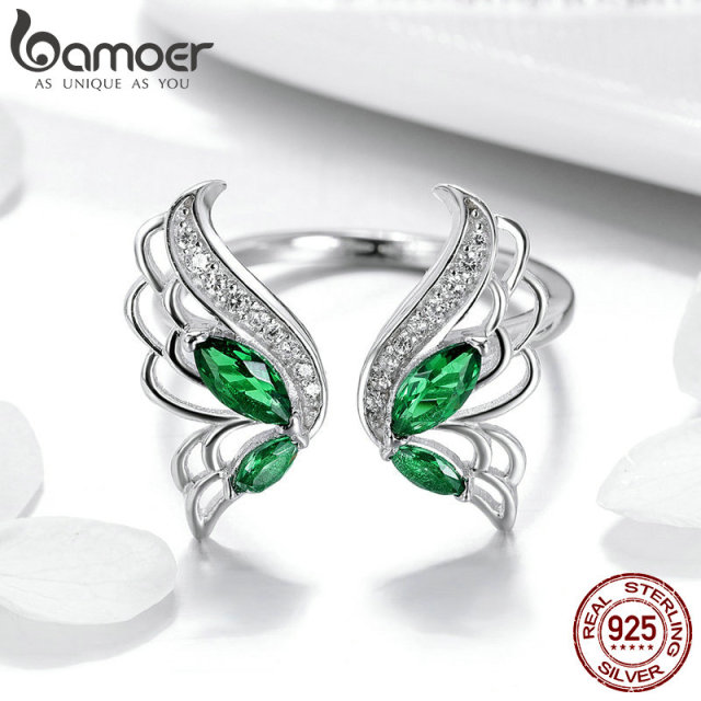 925 Sterling Silver Elegant Butterfly Ring For Girls