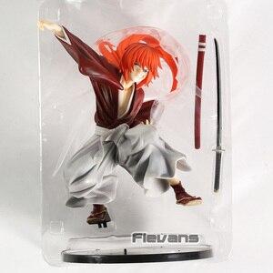 Image 5 - סמוראי X Rurouni קנשין Himura קנשין PVC איור צעצוע אסיפה צלמית דגם