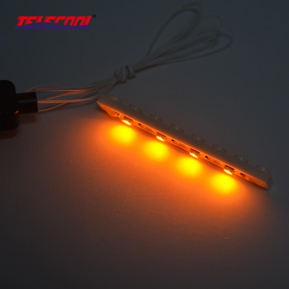 TELECOOL šarene LED svjetlo gore Kit za sve građevinske blokove - Izgradnja igračke - Foto 6