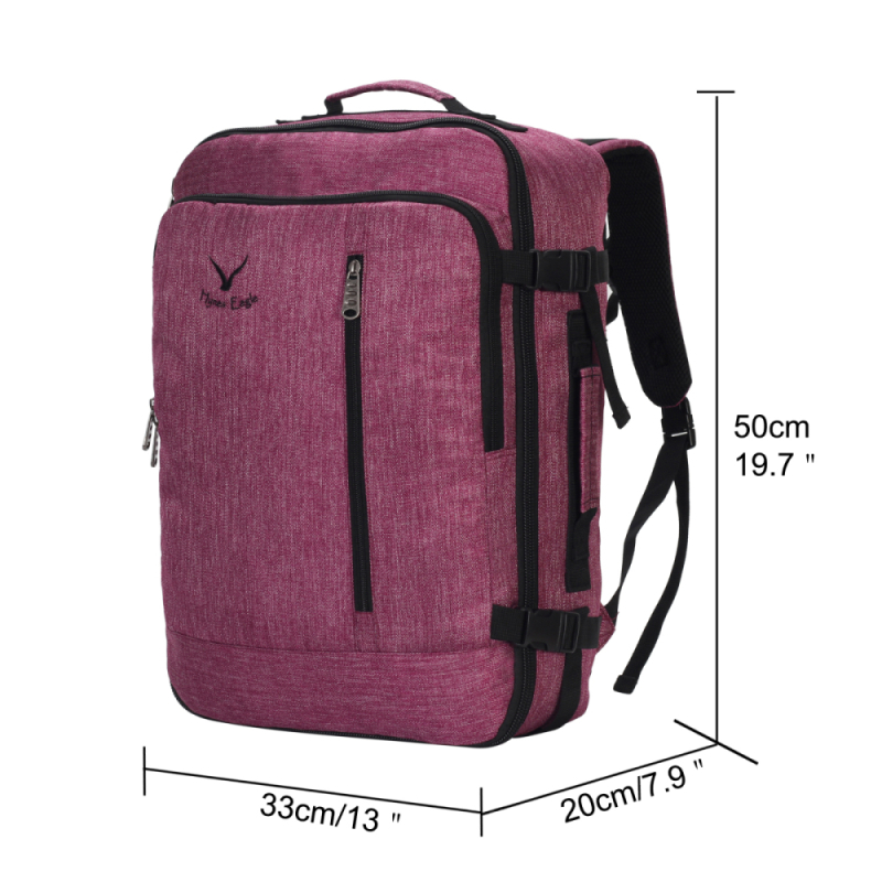 11b6dae6f2bb Hynes Eagle Brand Designer 38L Flight Approved Weekender Carry on Backpacks  For Men Women Vintage Travel Backpacks Luggage Bag-in Backpacks from  Luggage ...