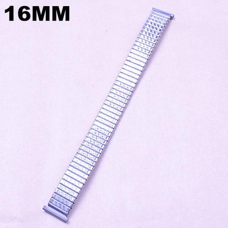10 шт./лот Высокое качество 16 мм из нержавеющей стали смотреть группы эластичность-05135