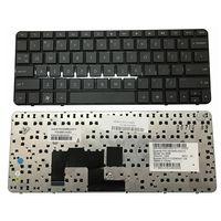 YALUZU nowy angielski klawiatura laptopa US do HP Mini 210 1000 210 1100 210T 1000 czarny z ramki Zamienne klawiatury Komputer i biuro -