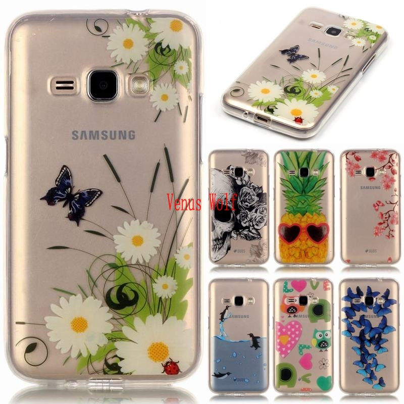 For Samsung Galaxy J1 2016 SM-J120F J120FN SM-J120FN Case Silicon Cartoon Phone Case for ...