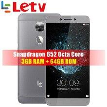"""Version globale LeTV LeEco Le 2X527 3G RAM 64G ROM FDD LTE téléphone portable Snapdragon 652 Octa Core 5.5 """"FHD 16.0MP identification dempreintes digitales"""