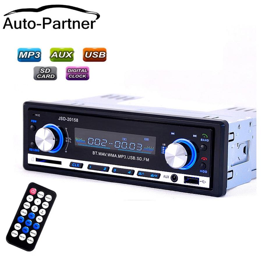 Radio del coche usb Bluetooth V2.0 Autoradio JSD 20158 Auto estéreo - Electrónica del Automóvil