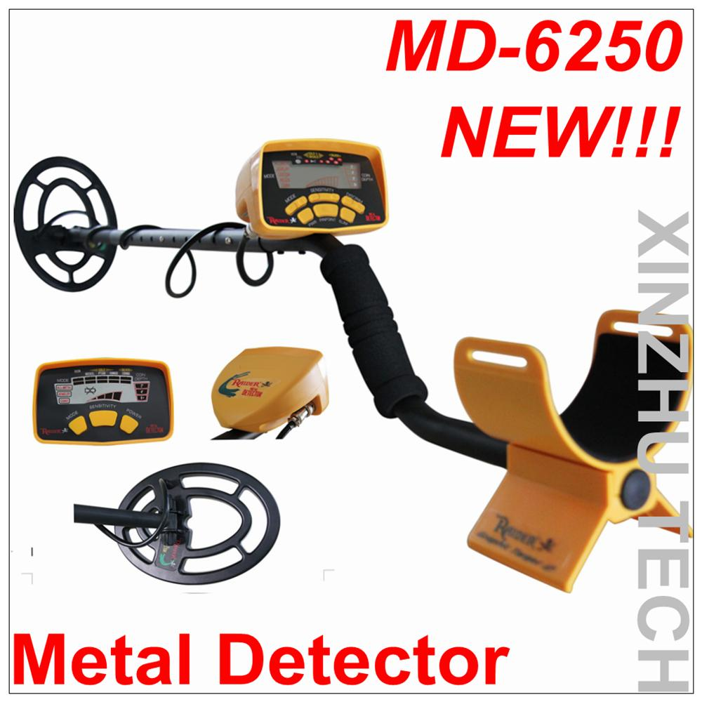 New Arrival MD-6250 Metal Detector Professional Underground Gold Detector MD6250 Treasure Hunter MD-6150 Updated Version