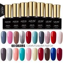 AZURE BEAUTY 7ml Gel Polish Nail Paint Manicure Azure Nail Gel Polish Soak Off Enamel Led UV Gel Lacquer Azure Nail Gel Varnish