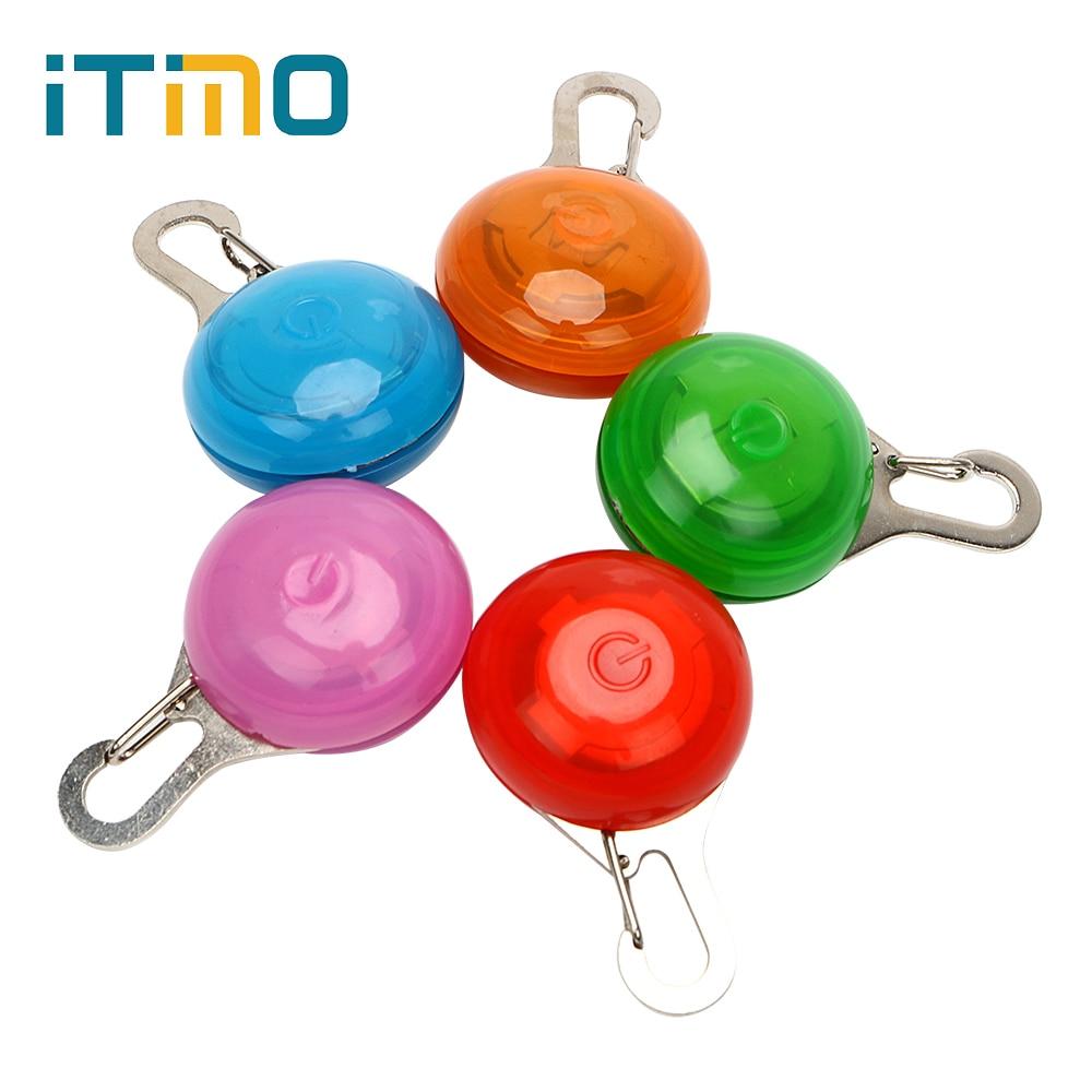 ITimo Novelty Lighting Flashing Pet Safety Light Animal Pet Accessories Luminous Collar For Dog Cat  LED Pet Collar Light