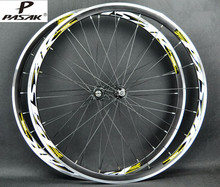 PASAK Road Bike Bicycle 700C Sealed Bearing ultra light  Wheels Wheelset Rim 11 speed support 1650g