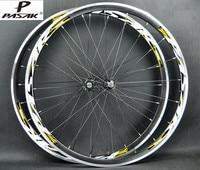 Pasak cojinete sellado ultra ligero bicicleta de carretera bicicleta 700c ruedas juego de ruedas llanta 11 velocidad soporte 1650g
