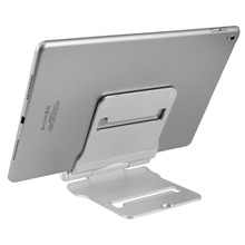 1 pieces silvery aluminum stand for ipad phone Multi Angle Aluminum Rotary font b Smartphone b