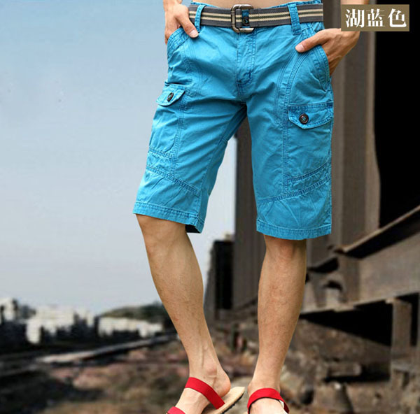 Popular Blue Khaki Shorts-Buy Cheap Blue Khaki Shorts lots from ...