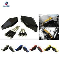 waase Engine Crash Pads Frame Sliders Protector For Yamaha XJ6 XJ6N XJ6S XJ6F DIVERSION 2009 2010 2011 2012 2013 2014 2015 2017