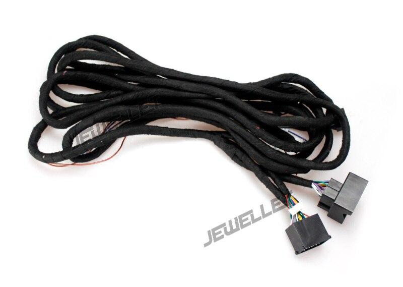 5 mètre Long Power Extension Câble Connecteurs pour BMW E39 E53 X5 E36 M3 Land rover Rang Rover Voiture DVD lecteur avec GPS Navigation
