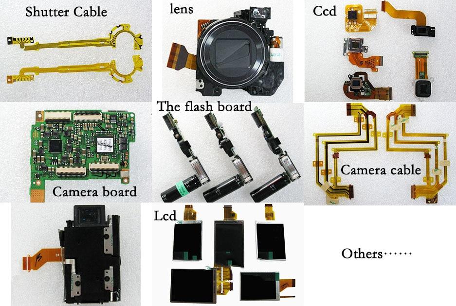 Cabos flex. p câmeras