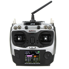 FBIL-RadioLink AT-9 2.4G 9CH Transmitter with R9DS 9CH Receiver for RC Helicopter