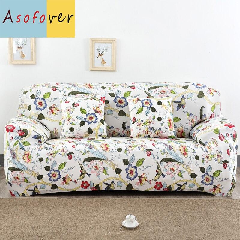 Asofover Adornment Sofa Cover Elastic Sofa Slipcover