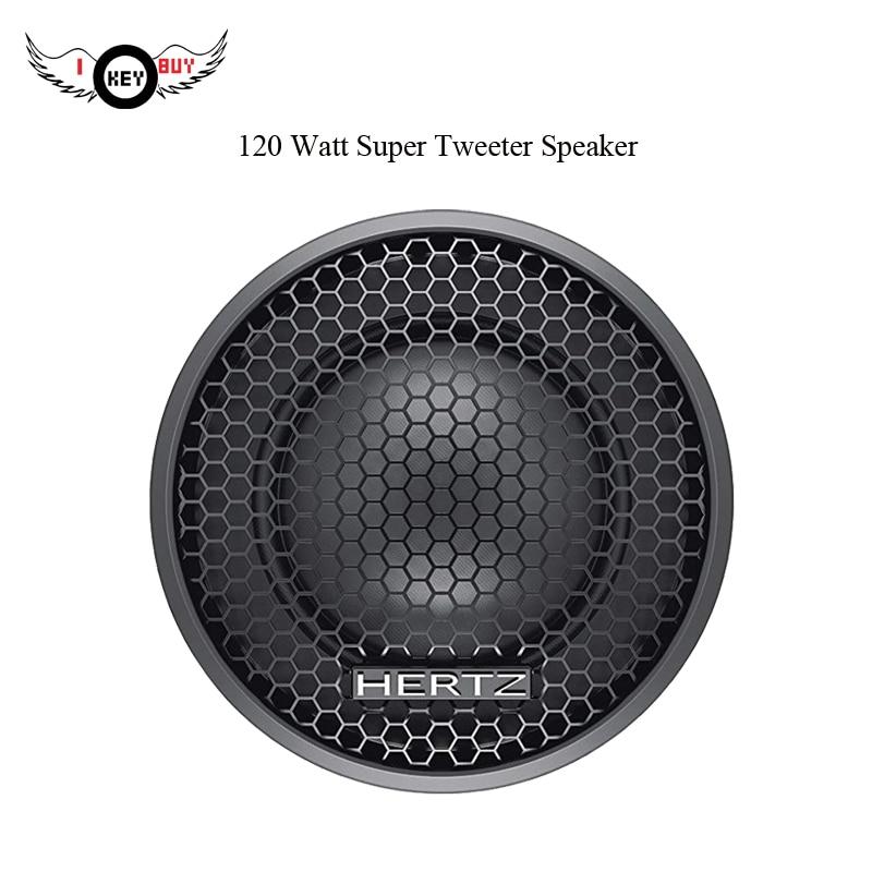 Speaker Black 120W Max 4Ohm 1Inch Car Speaker Audio Componet Tweeter Speakers 1 Pair Crossiver Divider Auto Car Music