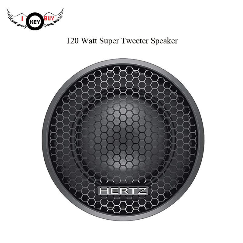 Speaker Preto 120 W Max 4Ohm 1 Polegada Divisor de Áudio Do Altofalante Do Carro Tweeter Alto-falantes Componet Crossiver 1 Par Auto Car música