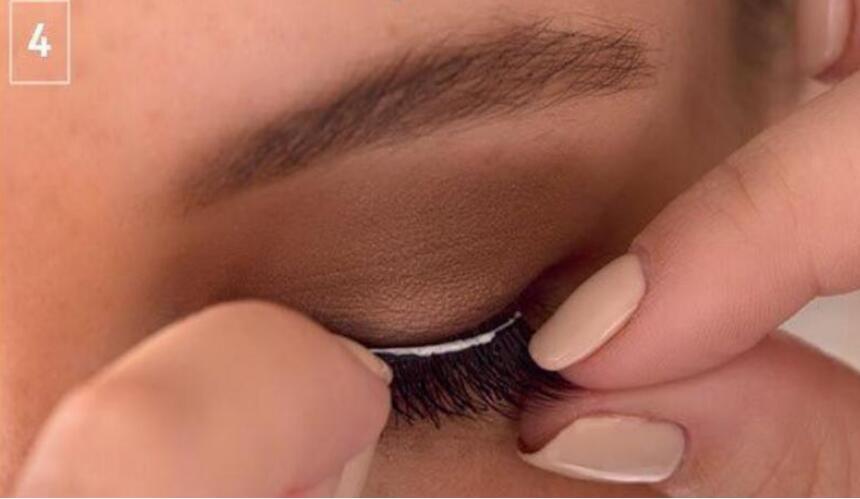 Cruzam Grosso Natural Eye Lashes Falsificados