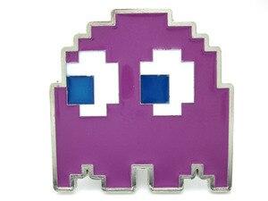 Фиолетовый ремень с пряжкой Ghost Pacman