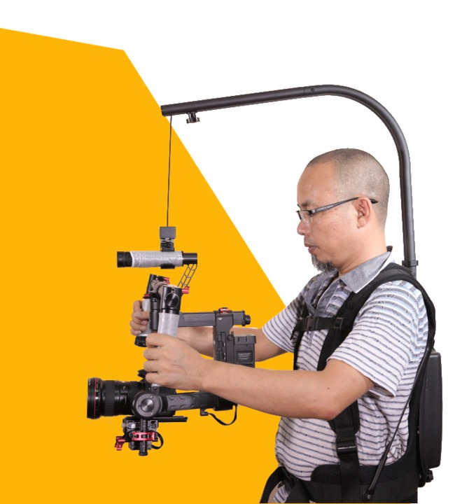 Like EASYRIG 1-8kg video and film Serene camera for dslr DJI Ronin M 3 AXIS gimbal stabilizer Gyroscope Gyro steadicam vest american countryside industrial vintage loft wrought iron net water pipe wall lamp cafe bars balcony retro light free shipping