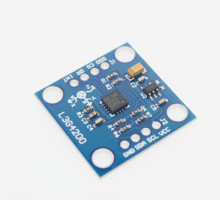 GY-50 L3G4200D Triple Axis Gyro Angular Velocity Sensor Module IIC / SPI Communication Protocol For Arduino