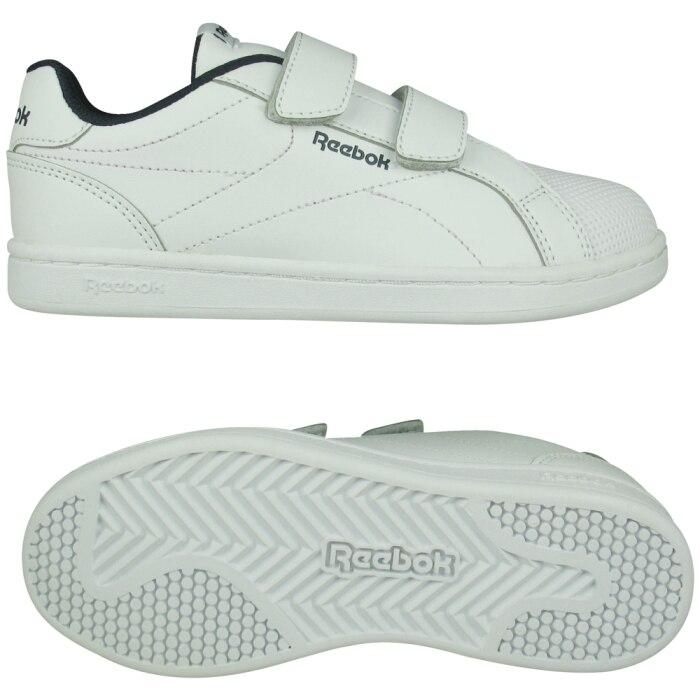 REEBOK Child shoes Unisex RBK ROYLA COMP CLN, free and Time sportwear, White