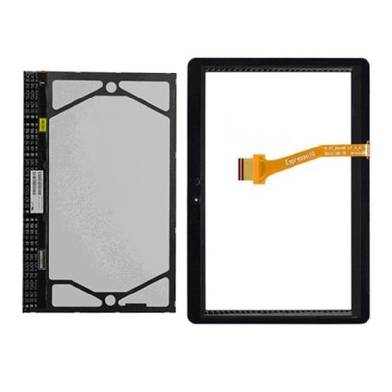 For Samsung Galaxy Tab 2 10.1 P5100 P5110 Black / White Touch Screen Sensor Digitizer Glass + LCD Display Screen Panel Monitor original for samsung p5110 p5100 n8000 touch screen touch screen touch capacitance screen