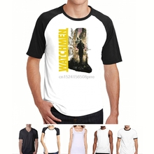 420f07c0e68e WATCHMEN RORSCHACH BLACK BLK T-SHIRT NEW OFFICIAL MOVIE COMIC ADULT best  custom t shirt