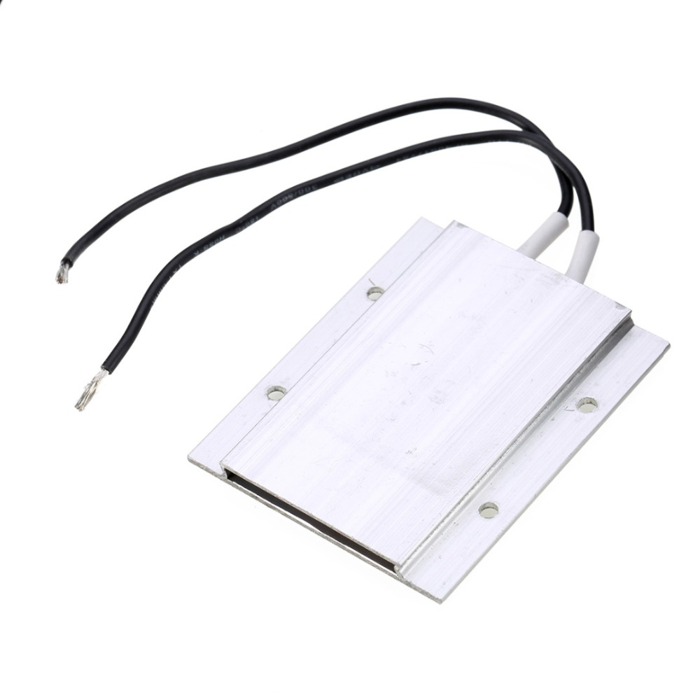 1PCS 60W AC/DC 12V 180 Degree PTC Thermostat Aluminum Heater Plate Heating Element Incubator Dehumidification Mayitr 1pcs ptc thermostat aluminum heating element heater plate 60w ac dc 12v 180 degree incubator dehumidification mayitr