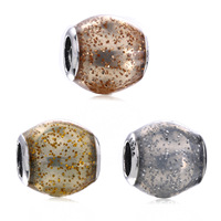 Venda Hot 925 Sterling Silver Radiance da Natureza Grânulos de Charme Fit Pulseira Pandora Original Pulseira Authentic Jóias DIY
