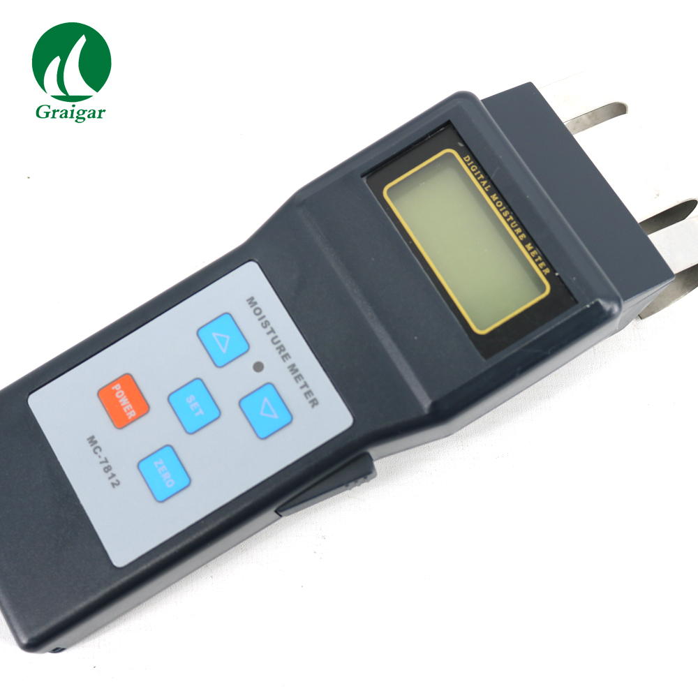 Grain Moisture Meter MC7821 Temperature Meter MC-7821 High accurate measure and wide test range