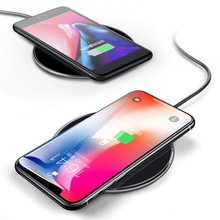 10W Qi Wireless Charger for iPhone X XS 8 Fast Wireless Charging Pad for Samsung S8 S9 S10 Xiaomi mi 9 huawei mate 20 Charger все цены