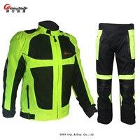 Мото rcycle гоночный костюм езда племя мото гоночная куртка брюки Светоотражающие зима лето Мото Кросс костюм Защитное снаряжение S21