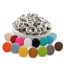 11mm Snap-Buttons Claw-Fasteners Press Stud Prong Scrapbook Handmade Metal Copper Craft Sewing 100sets