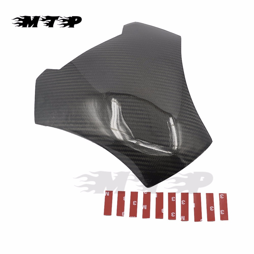ER6N 12 - 16 Motorcycle Oil Fuel Gas Tank Cover Protector For Kawasaki ER-6N ER 6N 2012 2013 2014 2015 2016 Carbon Fiber carbon fiber motorcycle oil fuel gas cap cover decal sticker protector for kawasaki ninja 250r ex250 08 12 ninja300 ex300 13 16