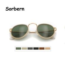 Brand Designer Round Sunglasses Women Polarized Sun Glasses For Men Retro Vintage Medium Shades Gafas De Sol Masculino