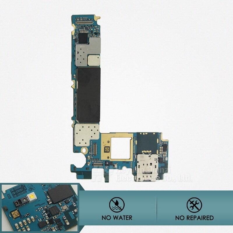 100% original desbloquear placa base placa base para samsung galaxy s6 edge plus g928f segunda mano  Se entrega en toda España