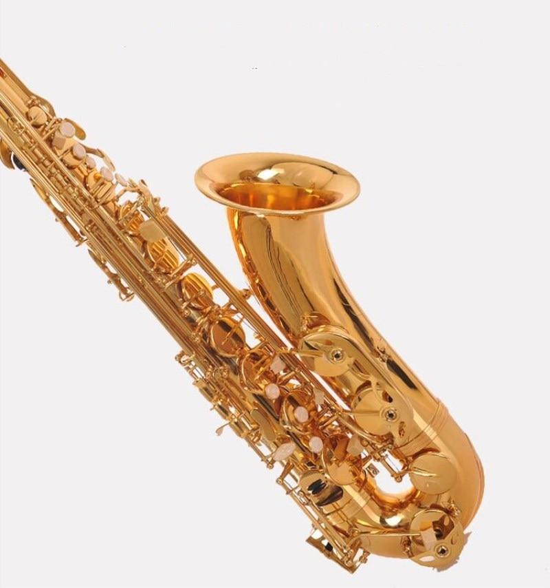 Super Action 80 Series II Saxophone High Quality France Henri Gold Lacquer Tenor Saxophone Instruments Brass Saxophone With case men original leather fashion travel university college school book bag designer male backpack daypack student laptop bag 9950