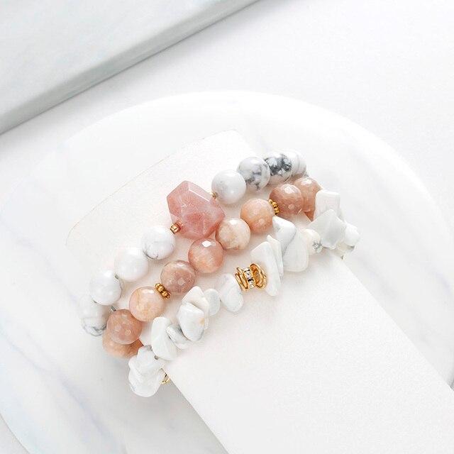 Bracelet Femme Pierre De Soleil