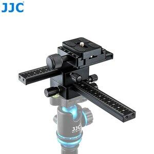 Image 3 - JJC Makro Odaklama Raylı Rrecise Konumlandırma bir Kamera X Ve Y Yönlü Eksen Özellikleri Arca Swiss Hızlı Bırakma plaka
