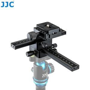 Image 3 - JJC makro koncentrując się szyna Rrecise pozycjonowanie kamery w X i Y kierunkowe osi możliwości arca swiss płyta szybkiego uwalniania