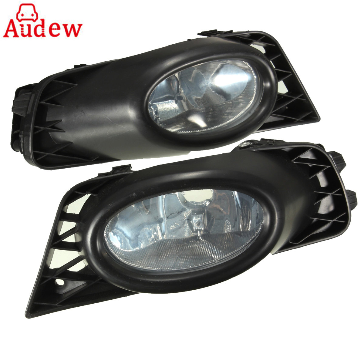 Car Driving Fog Light Clear Bumper With Harness & Switch For  Honda for Civic 4DR 09-11
