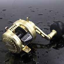 13+1bb катушка 5.2:1 Спиннинг рыболовные катушки полностью металлический корпус мулине Рыбалка Carretes де Pescar дистанции колеса Двойная система подшипника колеса