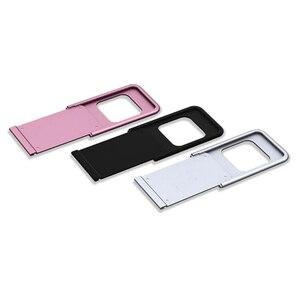 Металлическая крышка для веб-камеры, крышка для объектива телефона, защита от уединения, защита затвора для смартфона, ноутбука, Защитная пл...