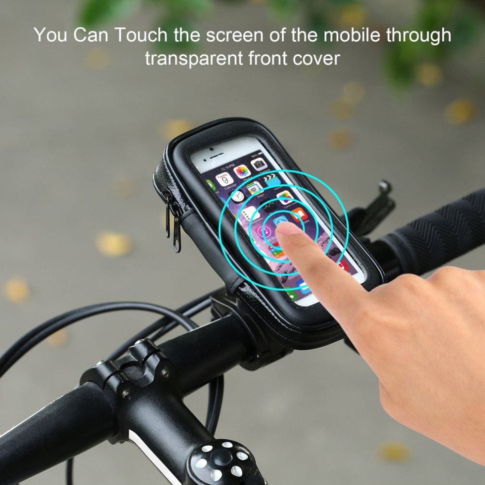 2016 Waterproof Bicycle bag Bike Mount Holder Case Bicycle Cover For Mobile Phone Sales Promotion roswheel tpu waterproof bicycle mobile phone bag w plastic case for iphone 4 4s light coffee
