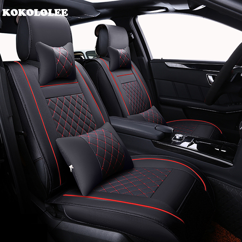 Microvezeldoek Interieur Auto Kokololee Luxury Leather Car Seat Covers Universal Cayenne